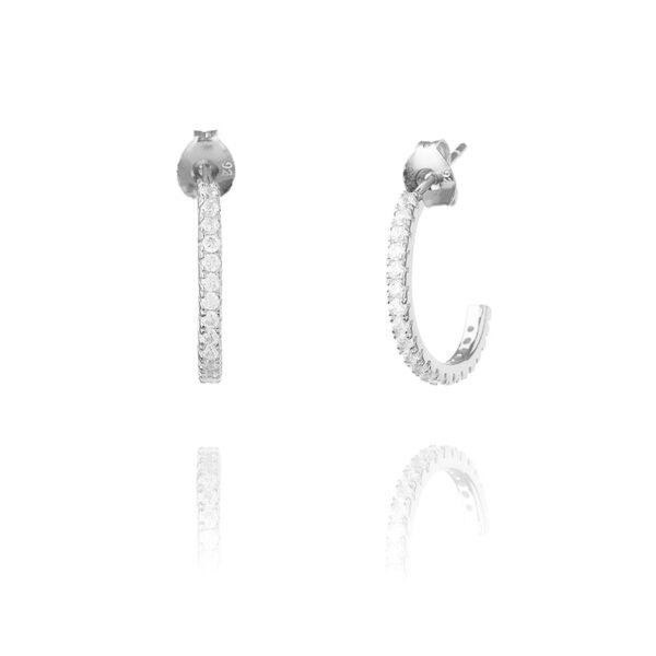 Amora Ear L Silver