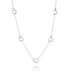 Thin Loops Collie Silver