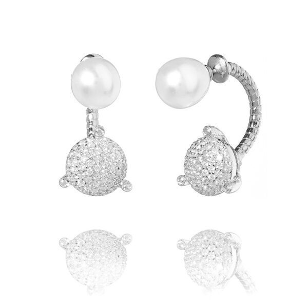 Paris Ear Silver