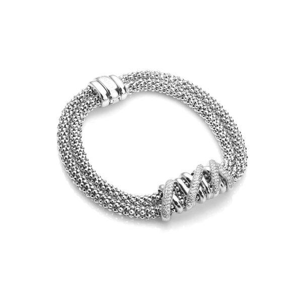 Twisted Brace Silver
