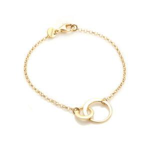 Thin Loops Brace Gold