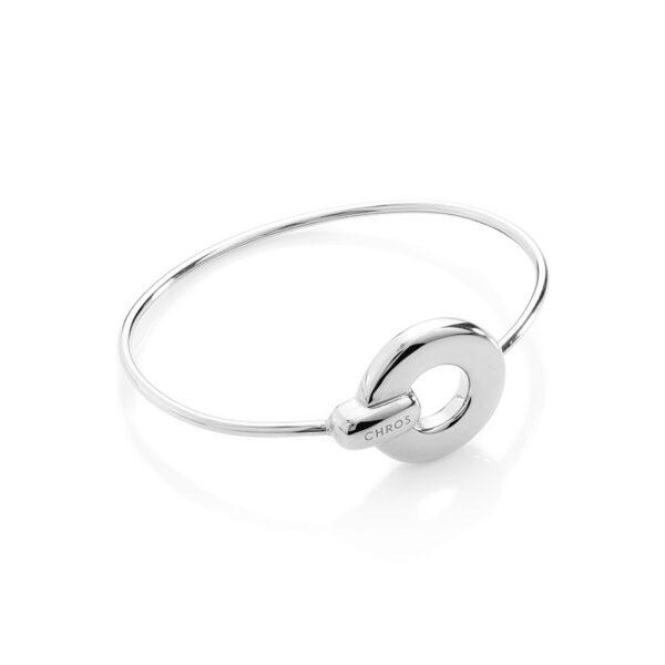 Luna Bangle Silver